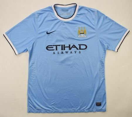 2013-14 MANCHESTER CITY *CONOR* SHIRT XXL
