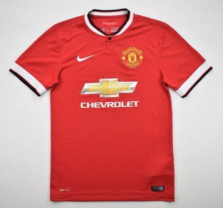reputable site 6ec88 4181e 2014-15 MANCHESTER UNITED SHIRT S