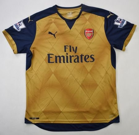 2015-16 ARSENAL *CHAMBERLAIN* LONDON SHIRT XL