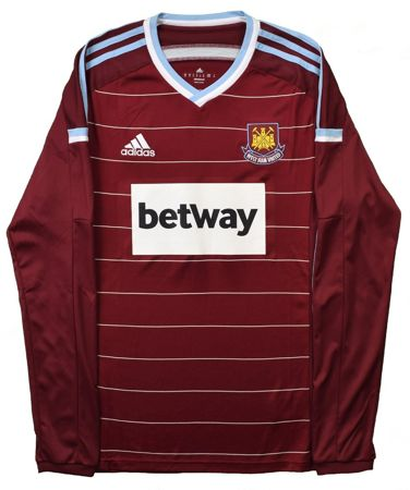 2015 WEST HAM UNITED LONGSLEEVE SHIRT M