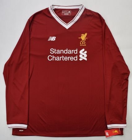 2017-18 LIVERPOOL LONGSLEEVE SHIRT 3XL