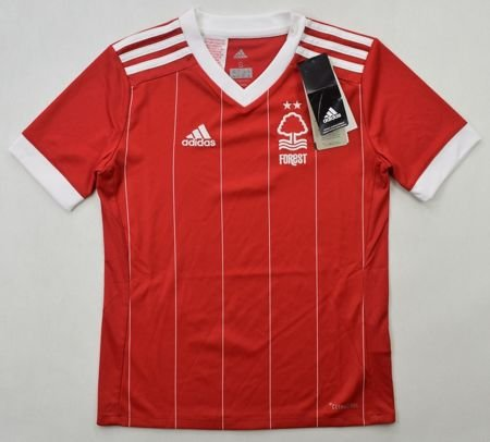 2017-18 NOTTHINGAM FOREST SHIRT S. BOYS