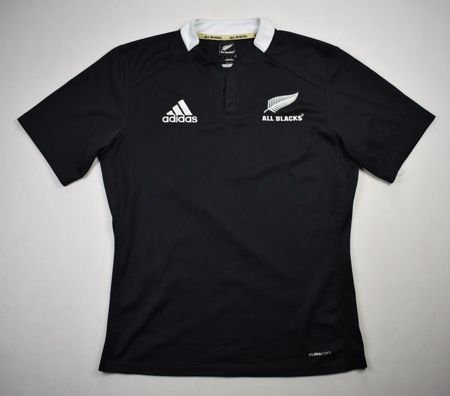 ALL BLACK NEW ZEALAND RUGBY ADIDAS SHIRT M