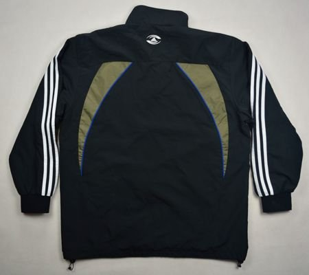 ALL BLACKS NEW ZEALAND RUGBY ADIDAS JACKET L