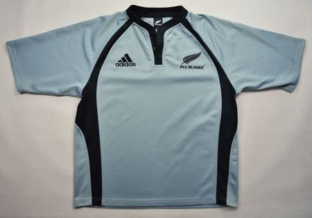 ALL BLACKS NEW ZEALAND RUGBY ADIDAS SHIRT L