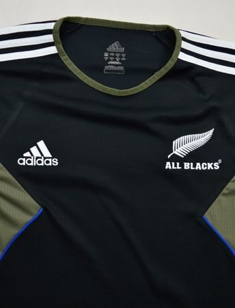 ALL BLACKS NEW ZEALAND RUGBY ADIDAS SHIRT M