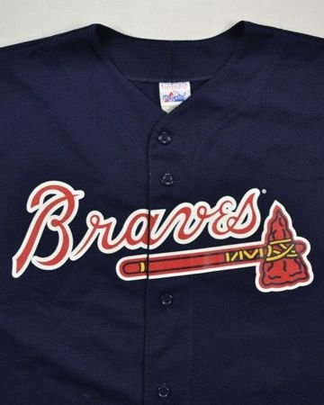 ATLANTA BRAVES MLB *A. JONES* MAJESTIC SHIRT XL