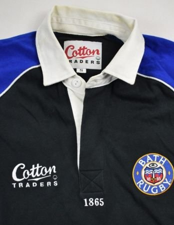 BATH RUGBY COTTON TRADERS LONGSLEEVE SHIRT S