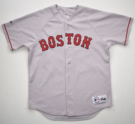 BOSTON RED SOX *VARITEK* MLB MAJESTIC SHIRT XL