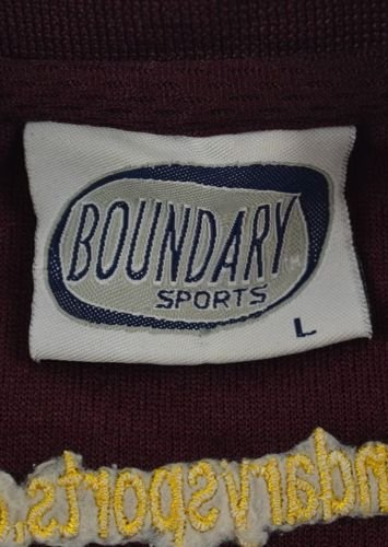 BOURNVILLE CRICKET *SMITHY* BOUNDARY SPORTS SHIRT L