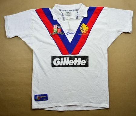 BRITISH ISLES RUGBY LEAGUE CLASSIC SHIRT XL