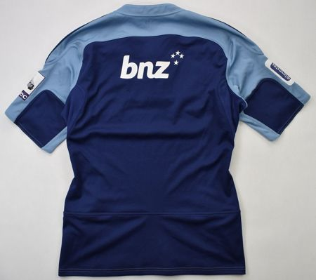 CARDIFF BLUES RUGBY CANTERBURY WOMEN SHIRT L