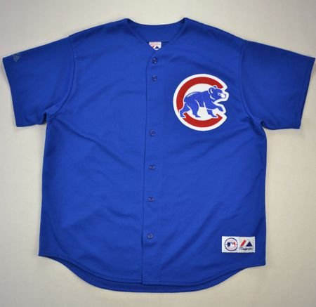 CHICAGO CUBS MLB *PRIOR* MAJESTIC SHIRT XXL