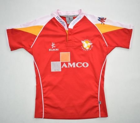 EAGLES SHEFFIELD *GIBSON* RUGBY KUKRI SHIRT M