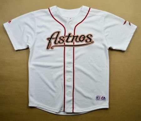 HOUSTON ASTROS *BERKMAN* MLB MAJESTIC SIZE 14/16 YRS
