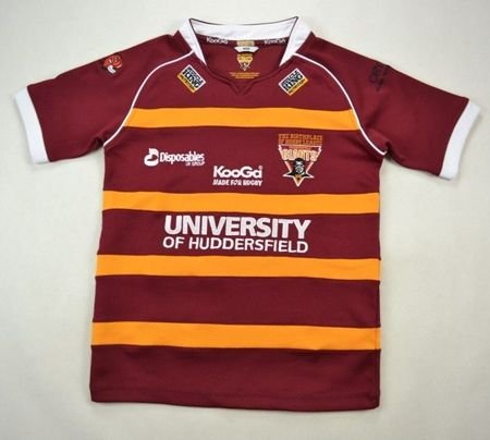 HUDDERSFIELD GIANTS RUGBY KOOGA SHIRT M. BOYS