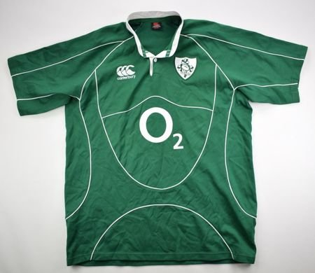 IRELAND RUGBY CANTERBURY SHIRT 2XL