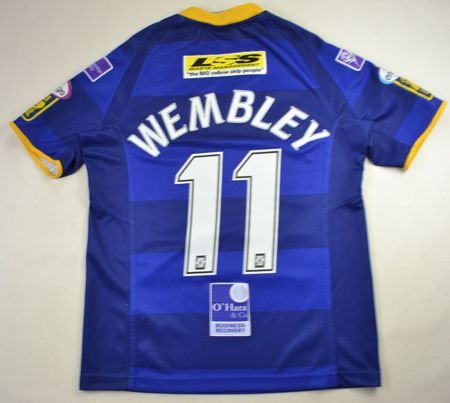 LEEDS RHINOS *WEMBLEY* RUGBY ISC SHIRT S