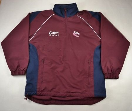 LEICESTER TIGERS RUGBY COTTON TRADERS JACKET S