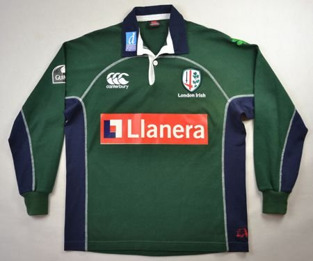 LONDON IRISH RUGBY CANTERBURY SHIRT SIZE 14 YEARS