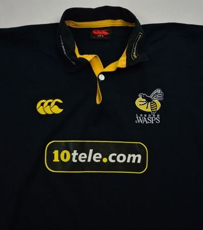 LONDON WASPS RUGBY CANTERBURY SHIRT XL