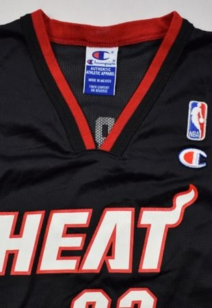 MIAMI HEAT NBA *MOURNING* CHAMPION SHIRT M. BOYS 10-12 YRS