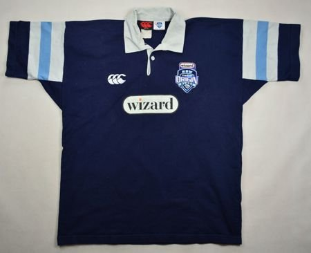 NEW SOUTH WALES BLUES RUGBY CANTERBURY SHIRT XL