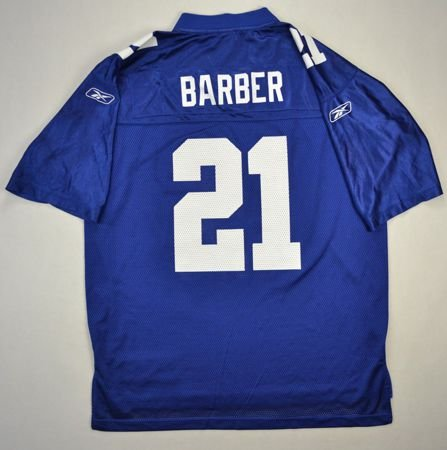 f90389a9f NEW YORK GIANTS NFL  BARBER  REEBOK SHIRT L Other Shirts   American Football