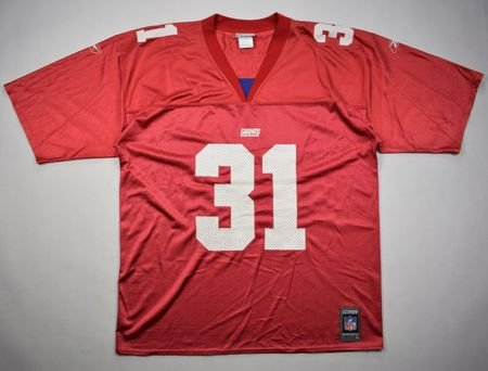 NEW YORK GIANTS NFL *SEHORN* REEBOK SHIRT L