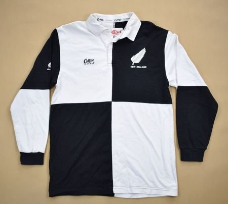 NEW ZEALAND RUGBY COTTON TRADERS SHIRT M