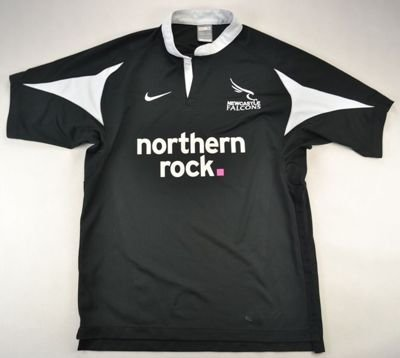 NEWCASTLE FALCONS RUGBY NIKE SHIRT S