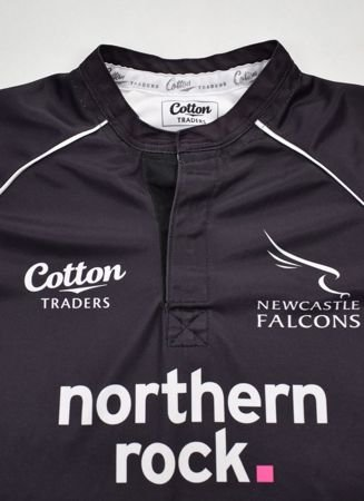 NEWCASTLE FALCONS RUGBY SHIRT 42 S