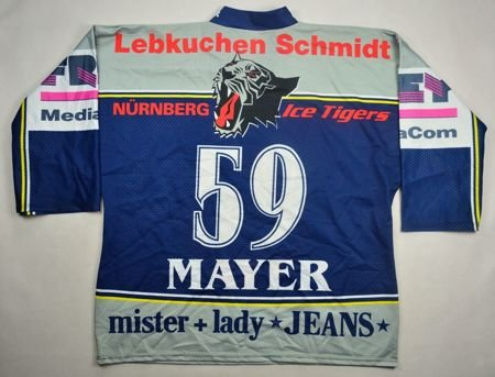 NURNBERG ICE TIGERS *MAYER* HOCKEY SHIRT XL