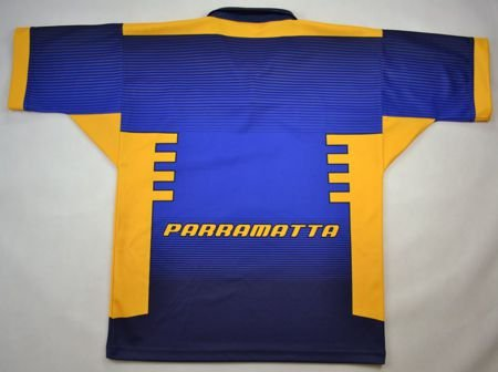 PARRAMATTA EELS RUGBY TEAM SUPPORTER SHIRT M