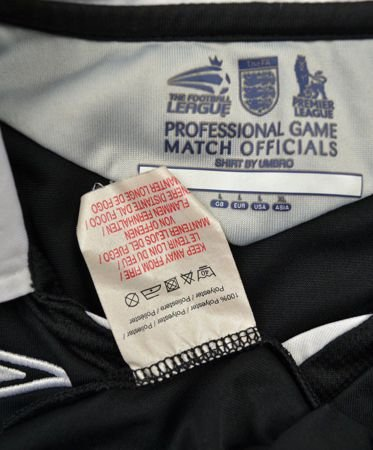 THE FOOTBALL LEAGUE REFEREE SHIRT L