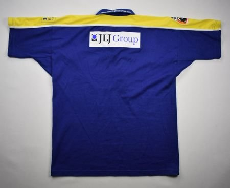 WARRINGTON WOLVES RUGBY CANTERBURY SHIRT M