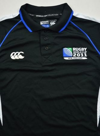 WORLD CUP 2011 NEW ZEALAND RUGBY SHIRT M