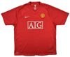 2007-09 MANCHESTER UNITED SHIRT adult L
